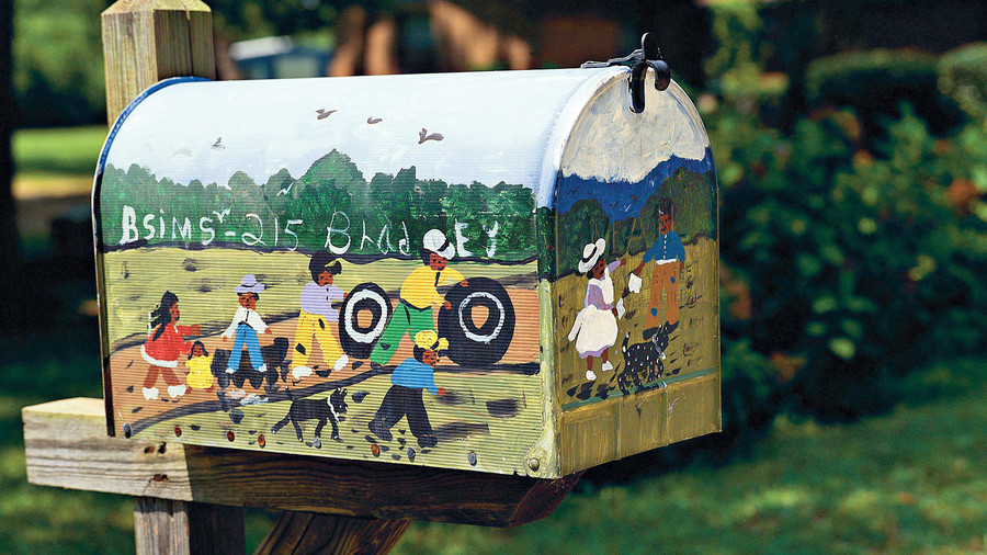 Decorated Mailbox