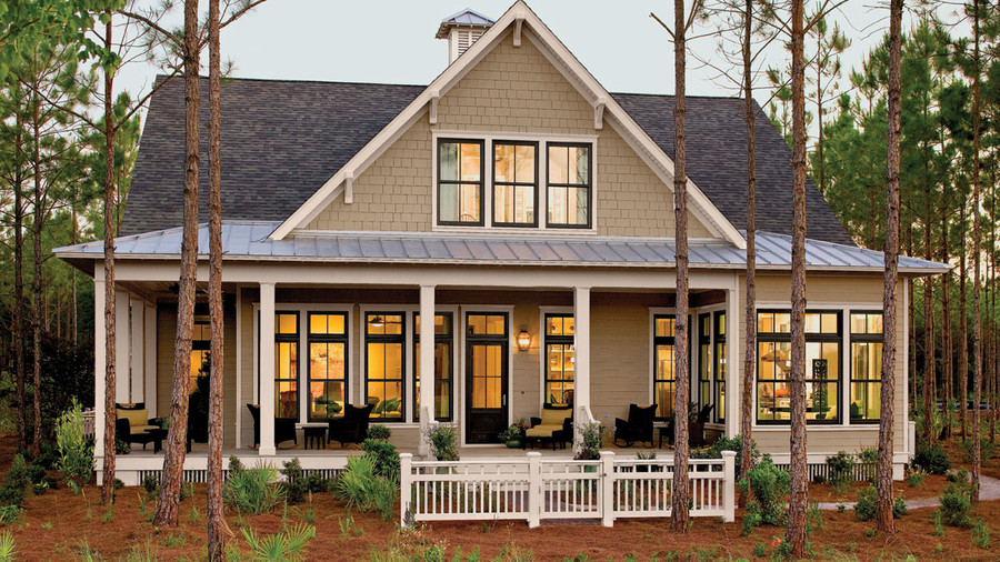10 tucker bayou plan 1408 - Farmhouse Plans Southern Living