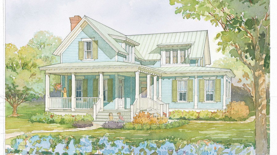 wildmere cottage plan 1110 - Farmhouse Plans Southern Living