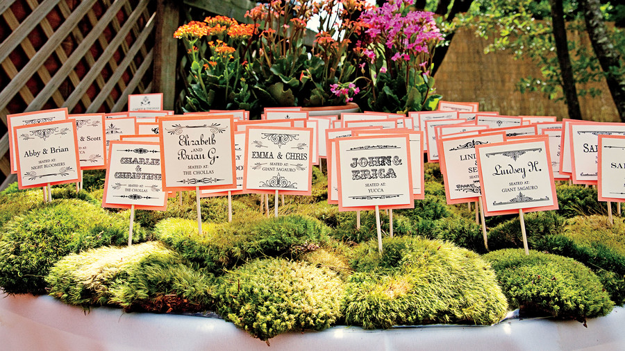 Throwback Escort Cards