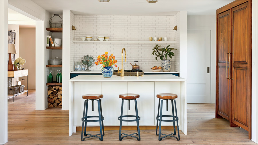 Shining Kitchen Island