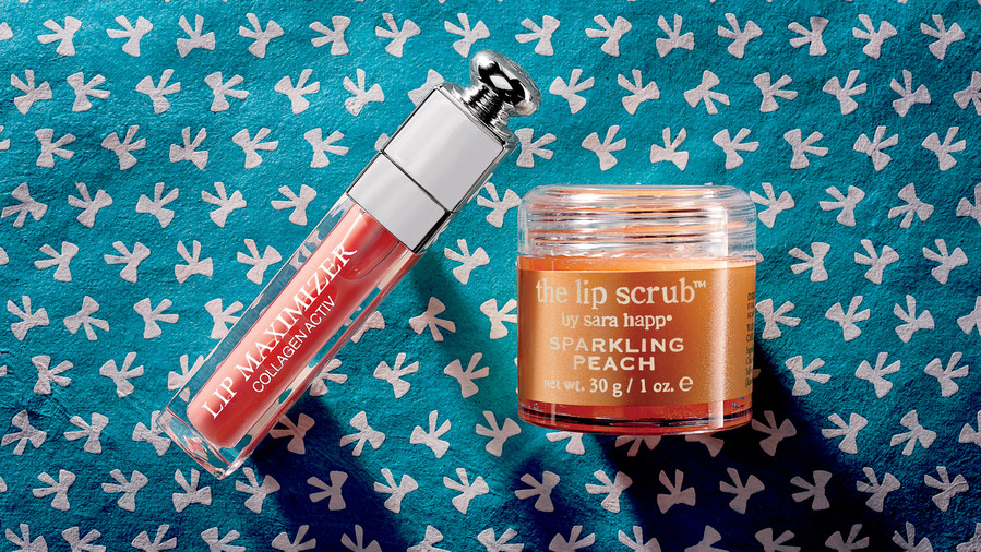 For Full Lips: Exfoliator + Plumper