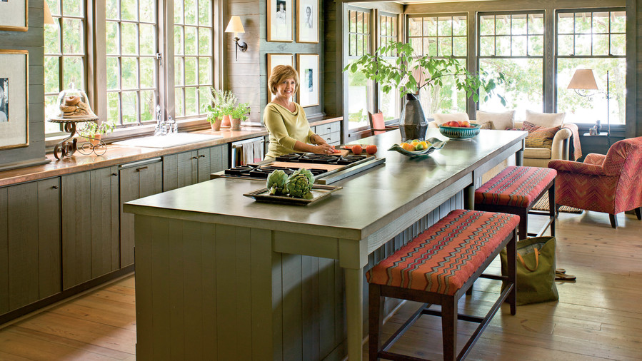 kitchen serves traditional peninsula vs which best by layout designed nbsp you island or