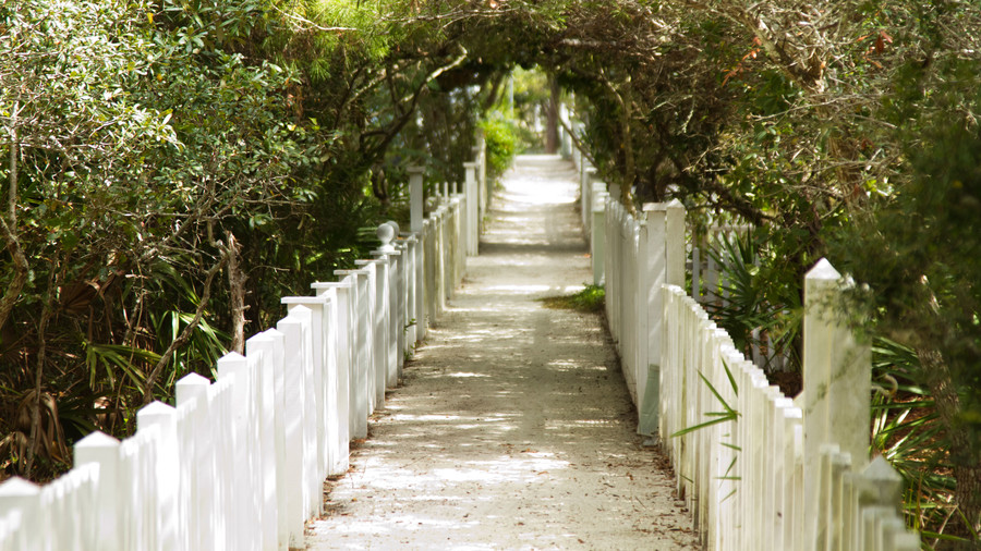 7. White Picket Fences