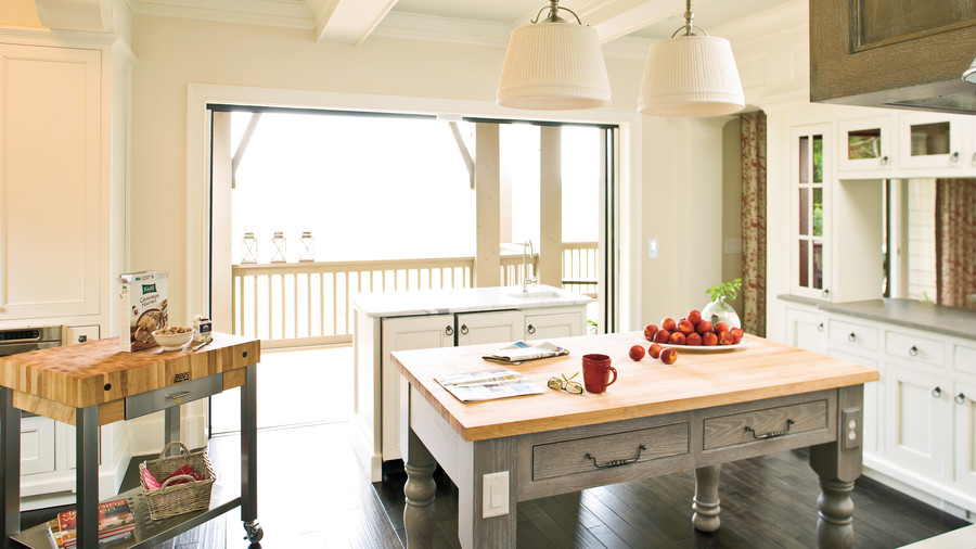 Practical Kitchen Island Ideas