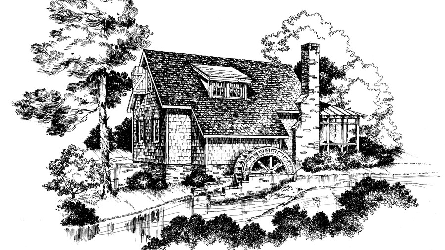 Yancey's Mill Plan #741