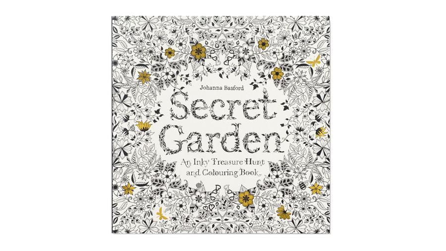 Mother's Day Michaels Secret Garden Book image