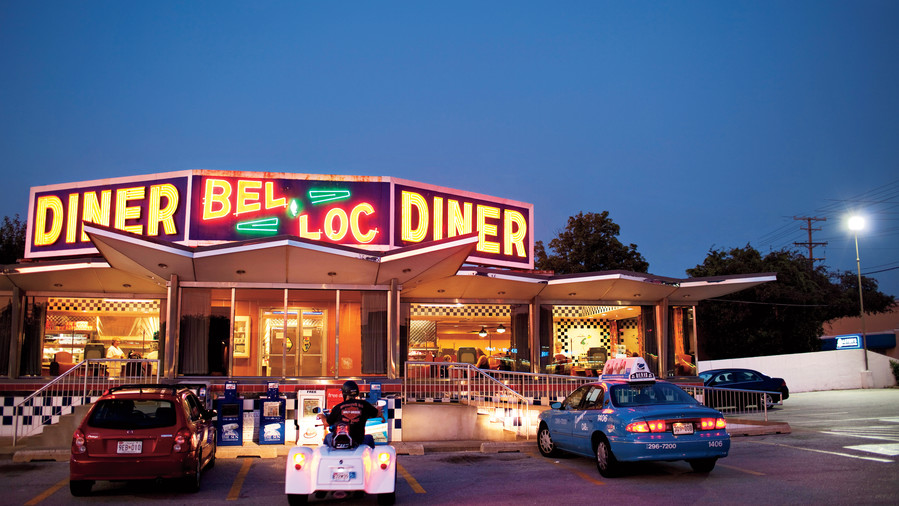 Southern Diner Restaurants: Bel-Loc Diner, Baltimore, MD