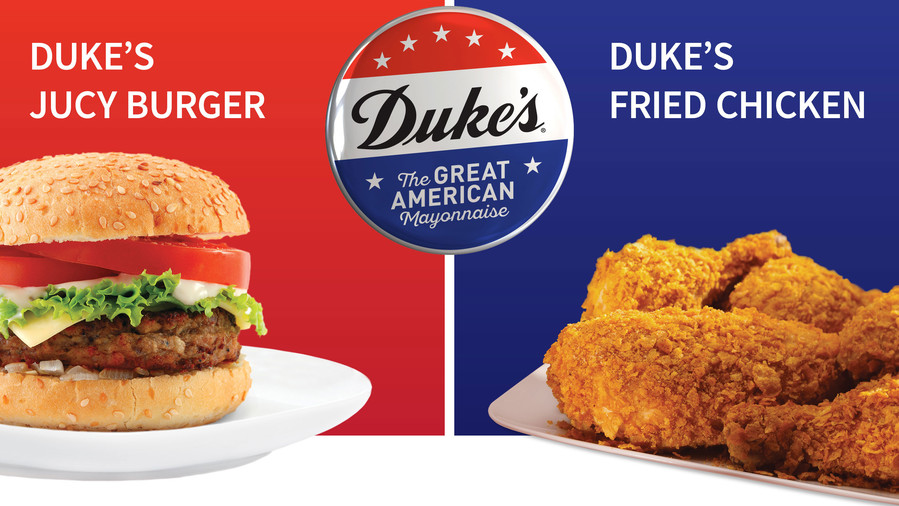Duke's Juicy Burger vs. Fried Chicken