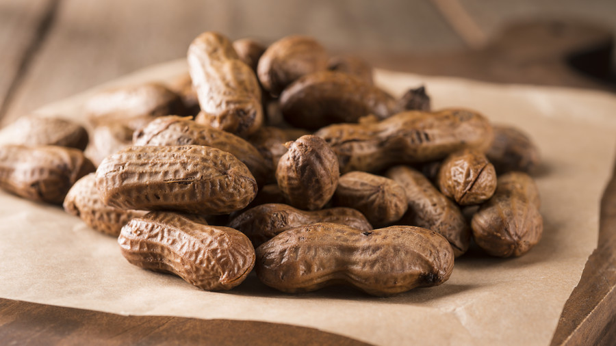 Boiled Peanuts Road Trip Snack