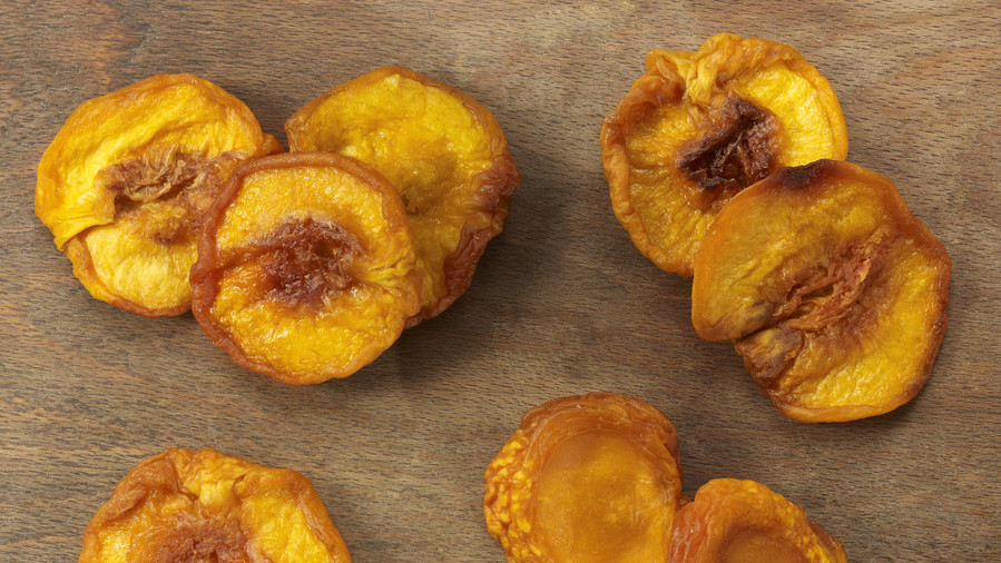 Dried Peaches Road Trip Snack