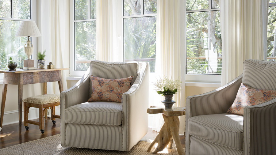 Accent Chairs in Kiawah Living Room