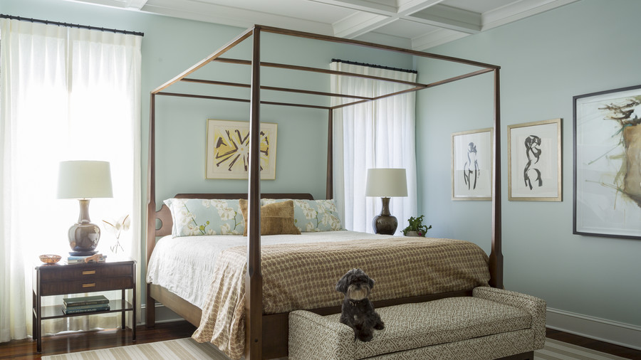 Master Bedroom in Kiawah Home