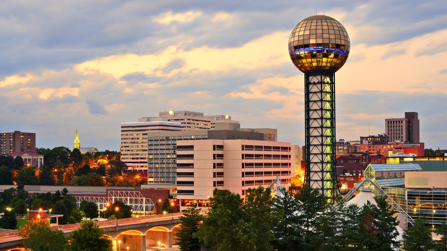 Downtown Knoxville, TN