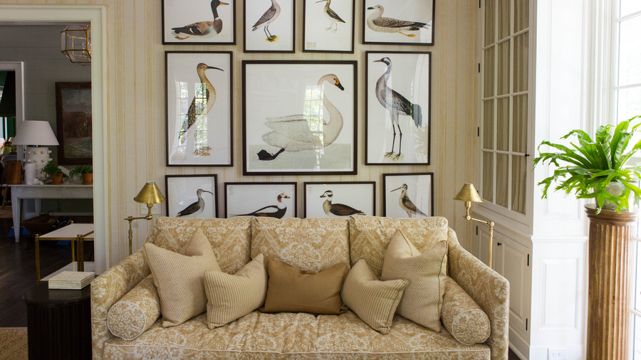 Duck Print Gallery Wall