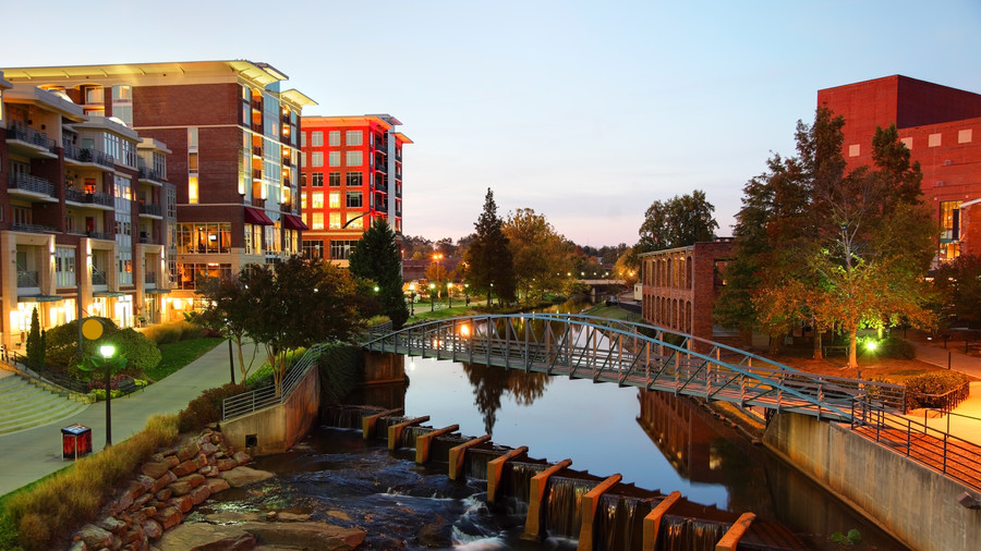 3. Greenville, South Carolina