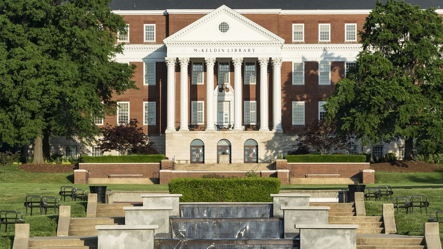 McKeldin Library at the University of Maryland