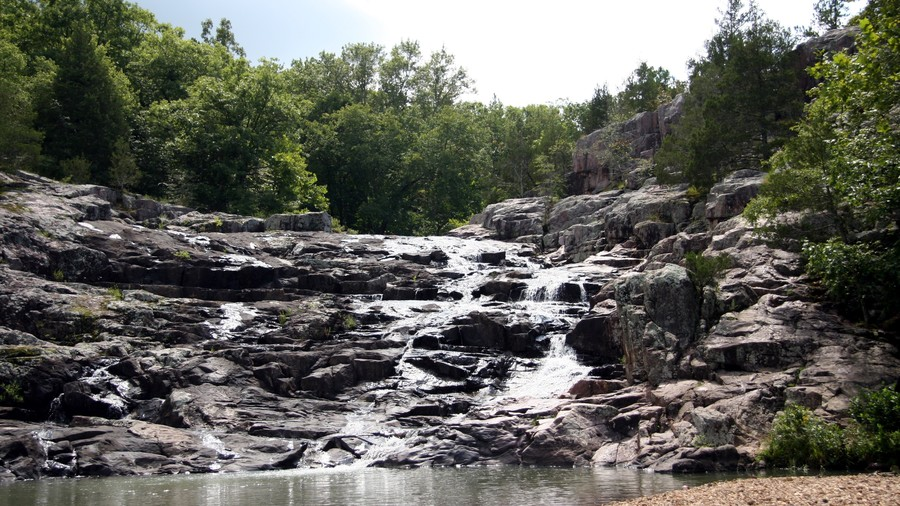 Rocky Falls, Ozark National Scenic Riverway, Missouri
