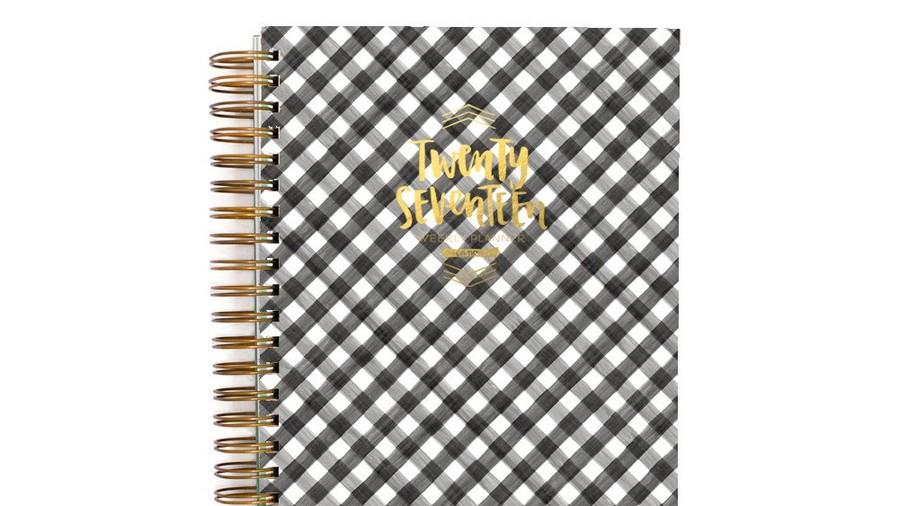 1 Canoe 2 Gingham Day Planner