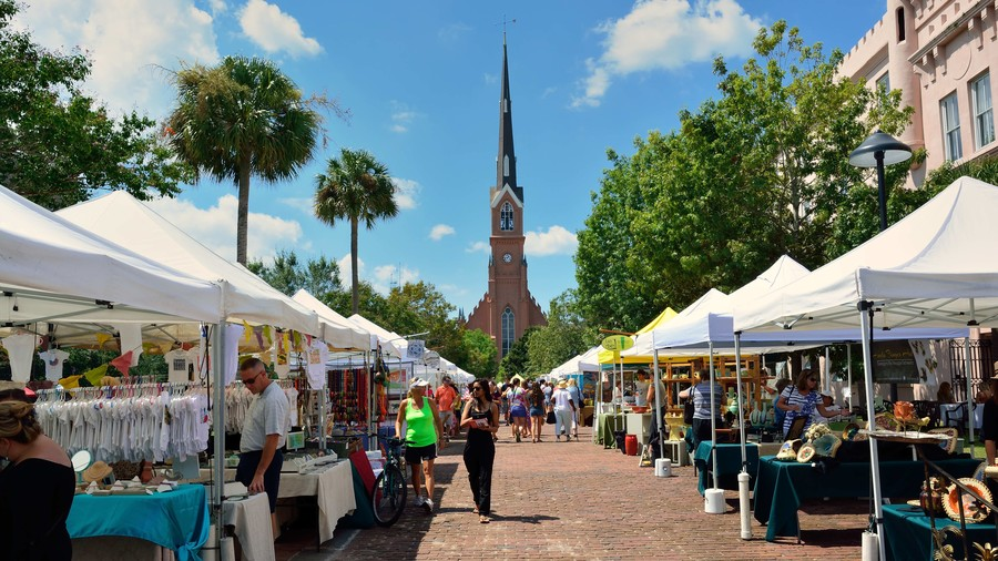 Charleston Farmers Market: Charleston, SC