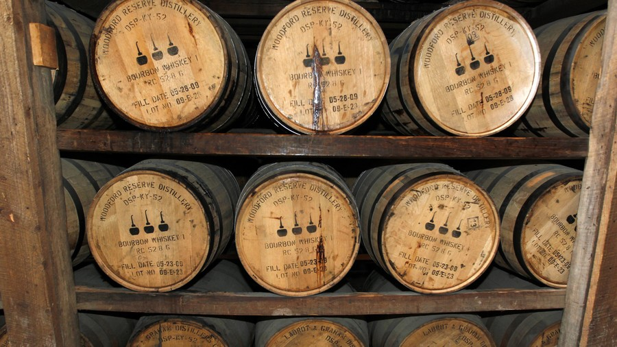 Woodford Reserve Bourbon Whiskey Barrels