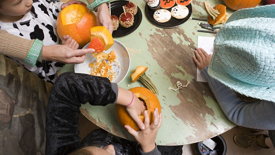 Pumpkin Carving Station