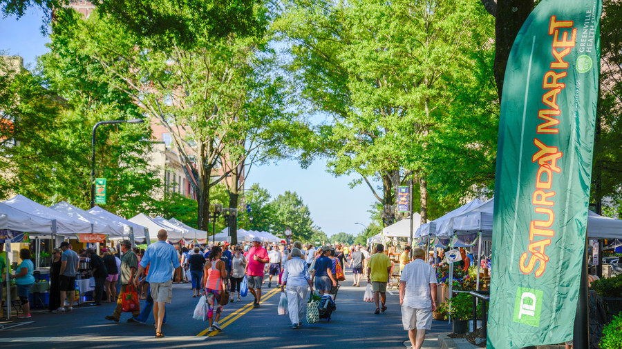 TD Saturday Market in Greenville, SC