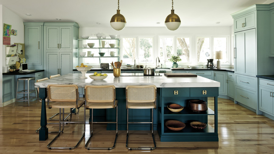 The Modern Family Kitchen: After