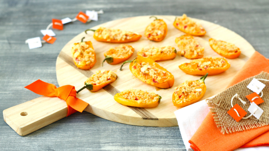 Smoky Pimiento Cheese Poppers