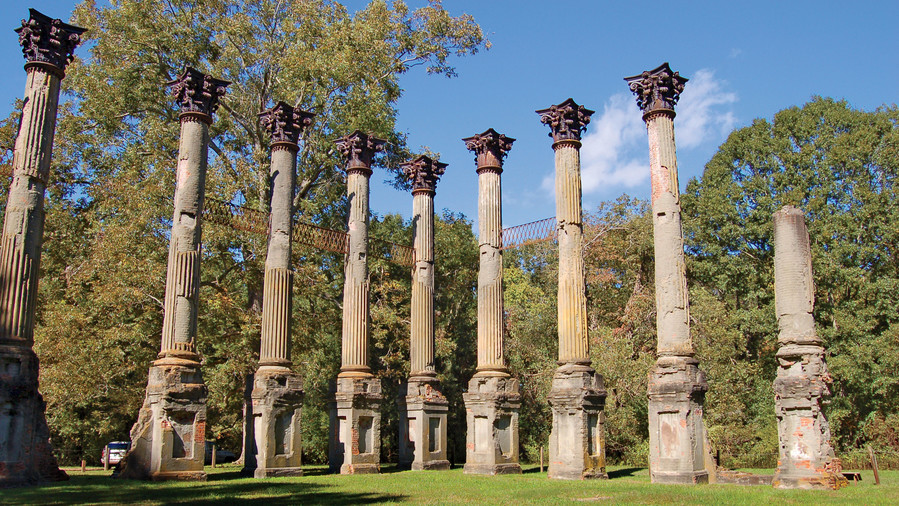 Windsor Ruins in Port Gibson, MS