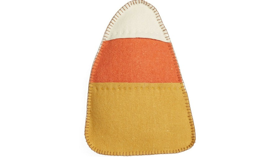 Candy Corn Accent Pillow