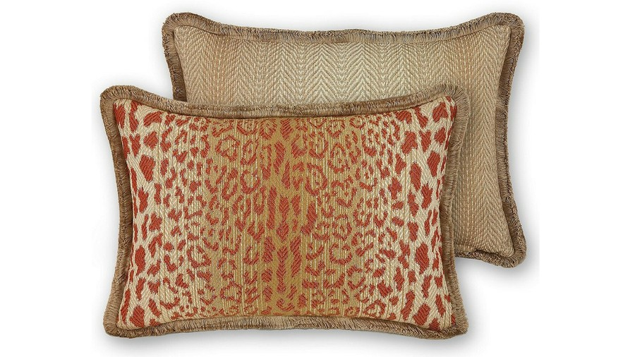 Durham Reversible Ombré Animal Fall Throw Pillow