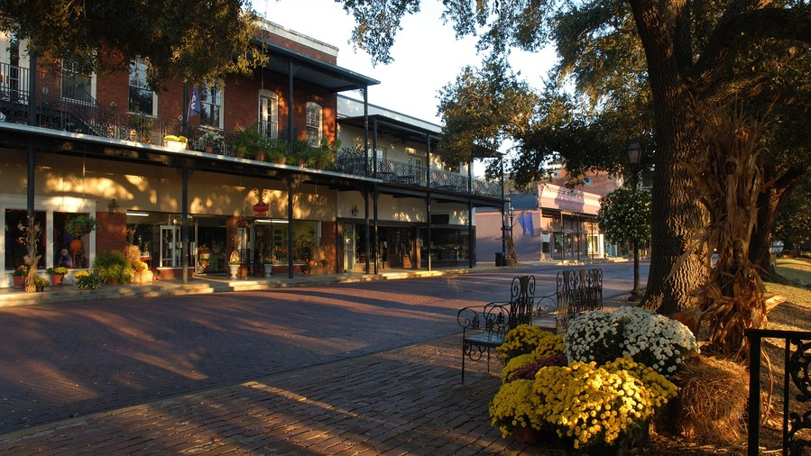 Front Street in Natchitoches, LA