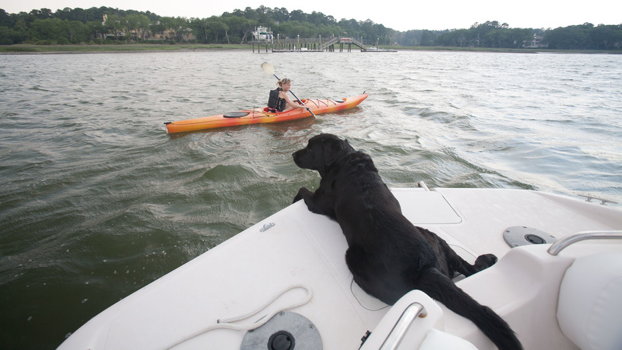 lab on boat