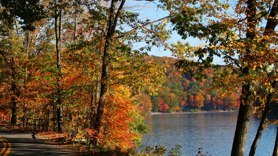 Deep Creek Lake Fall Color