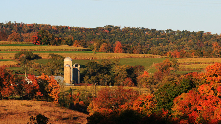 Rt. 219 Scenic Overlook in Accident, MD Fall Color