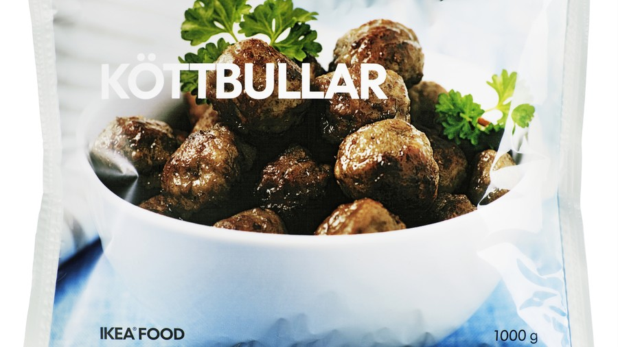 Meatballs from Ikea