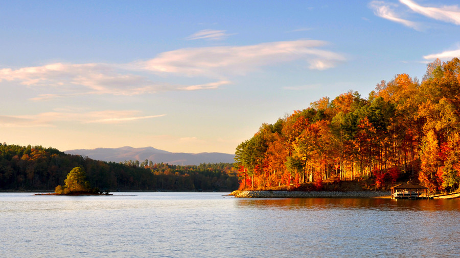 Lake Keowee Fall Color