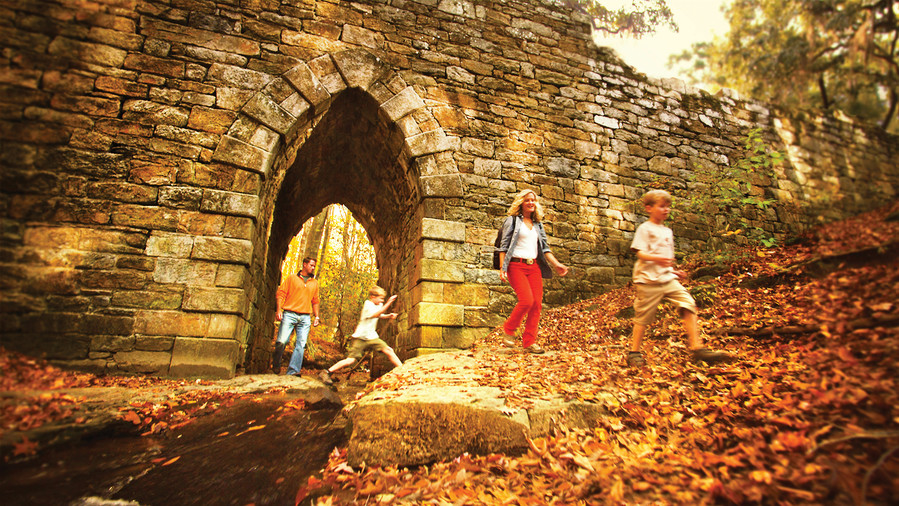 Poinsett Bridge Fall Color