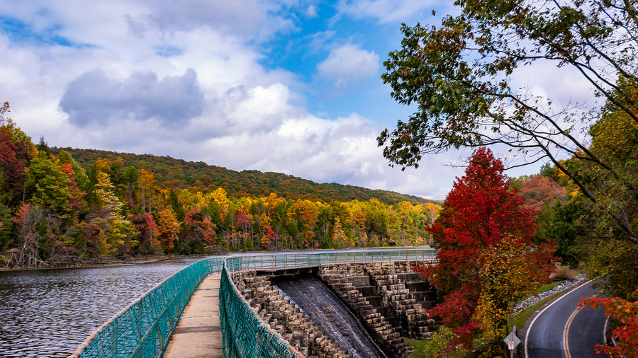 Bays Mountain Park and Planetarium Fall Foliage