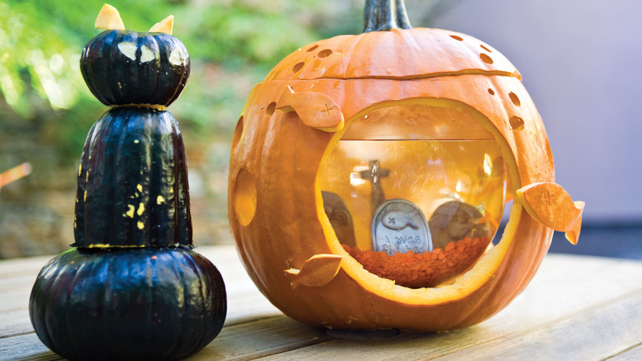 Fishy Pumpkin