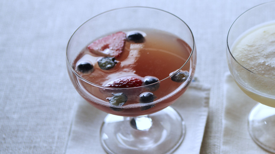 Berry Bubbly Punch