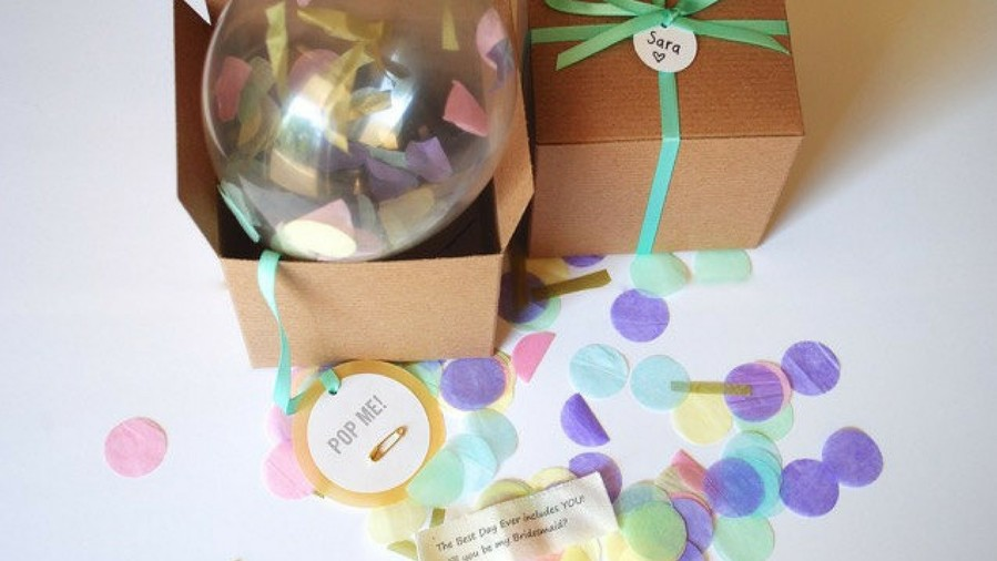 Bridesmaids Proposal Confetti Balloon