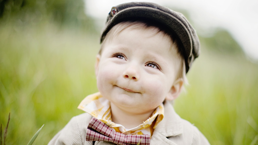 Gender Neutral Baby Names Boy Smiling