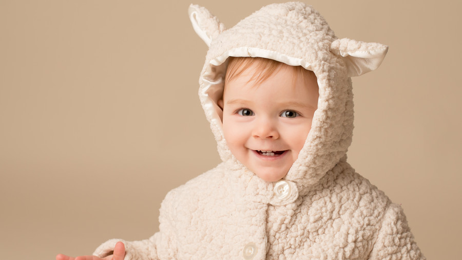 Baby in Sheep Coat