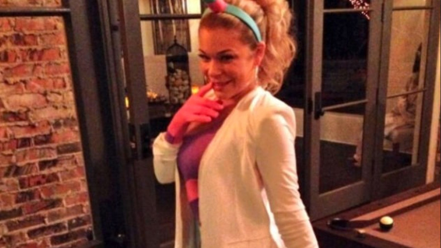 LeAnn Rimes Unicorn Halloween Costume