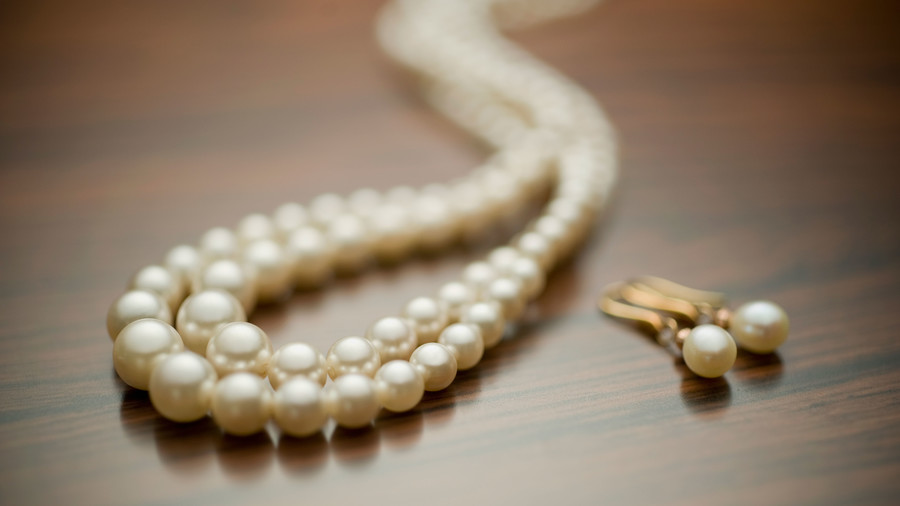 Getty Pearl Necklace