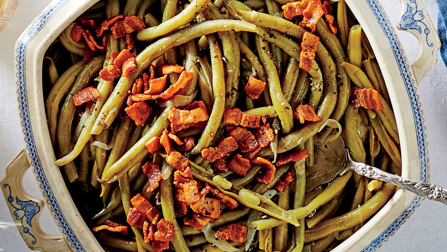 Thanksgiving Side Dish: Slow-Cooker Green Beans
