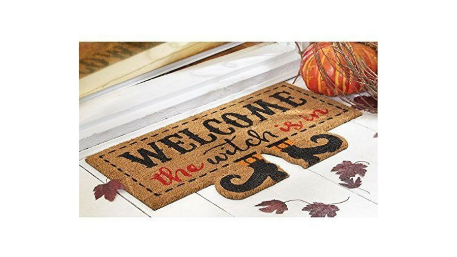 RX_1610_Halloween Decor_Witch Welcome Mat