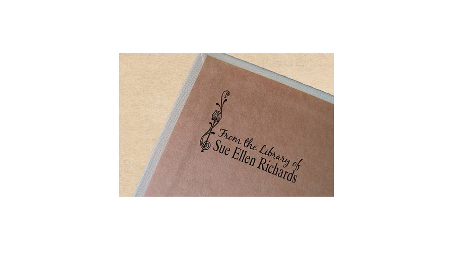 Custom Book Stamp